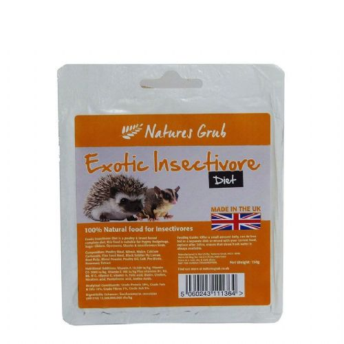 NG Exotic Insectivore Diet 150g Tray